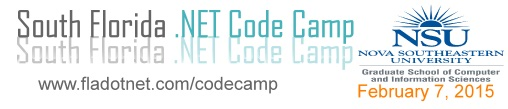 South Florida Code Camp 2015